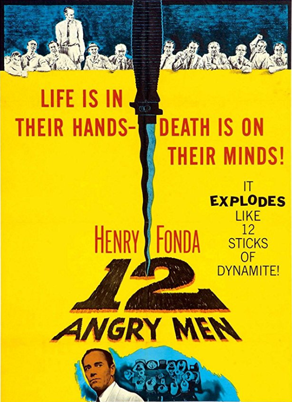 12 angry men - 2nd best of the top 10 movies of all time